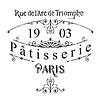 Stencil Patisserie