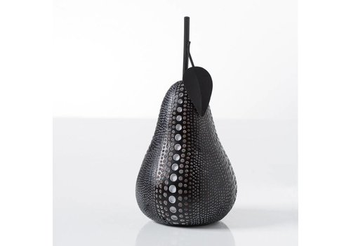 Dotted Pear Black