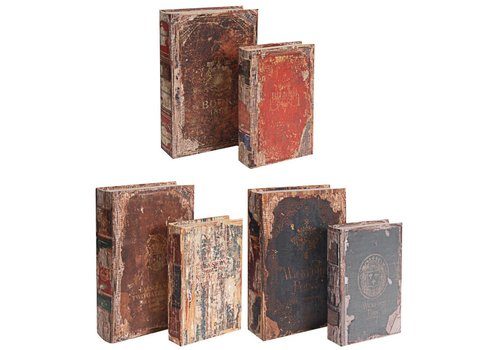 Distressed Books