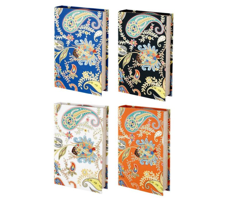 Paisley Storage Books