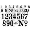 Stencil Numbers