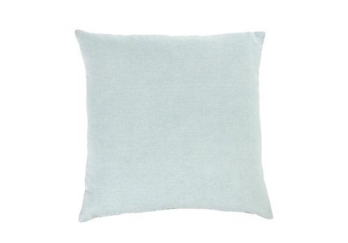 "Nala Linen Pillow Aqua 20x20"""