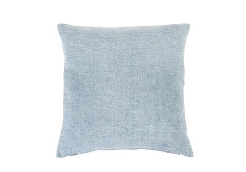 """Nala Linen Pillow Denim 20x20"""""""