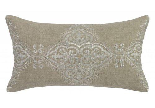 Vanda Pillow 14x26 (Pearl)