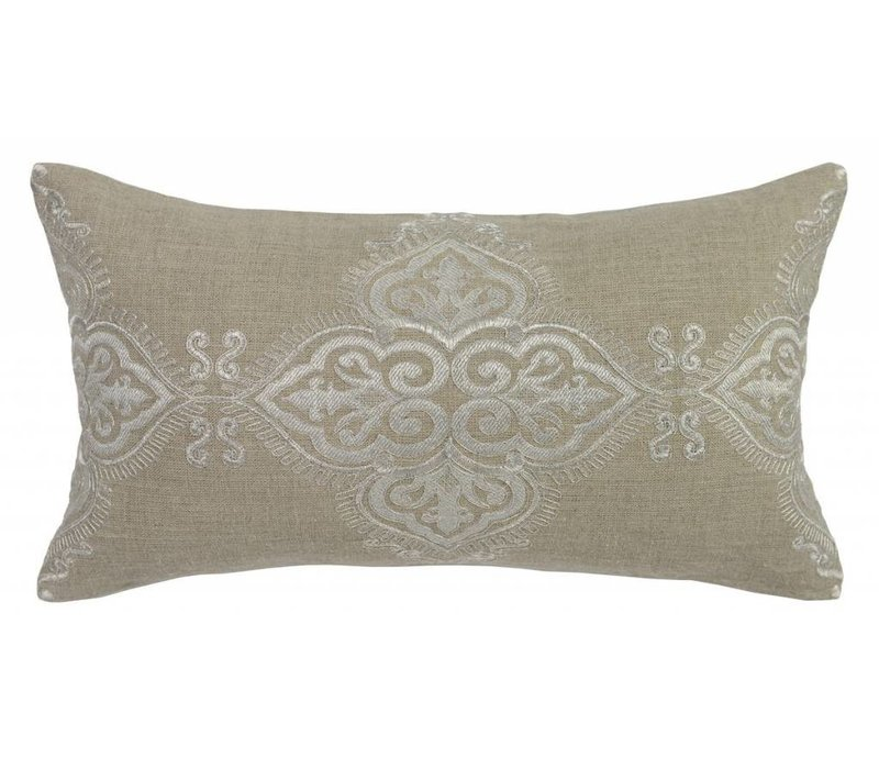 Vanda Pillow Pearl 14x26""