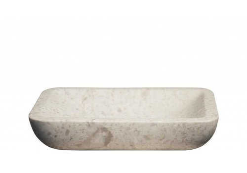 White Marble Soap Dish