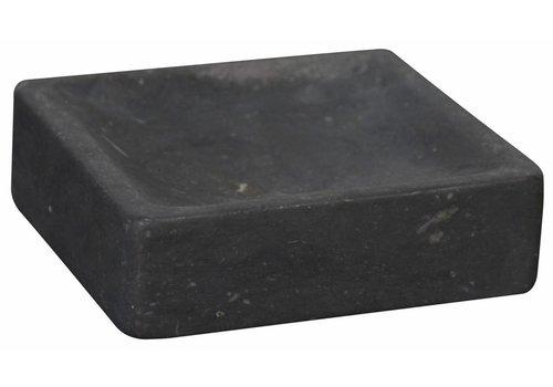 Black Marble Soap Dish