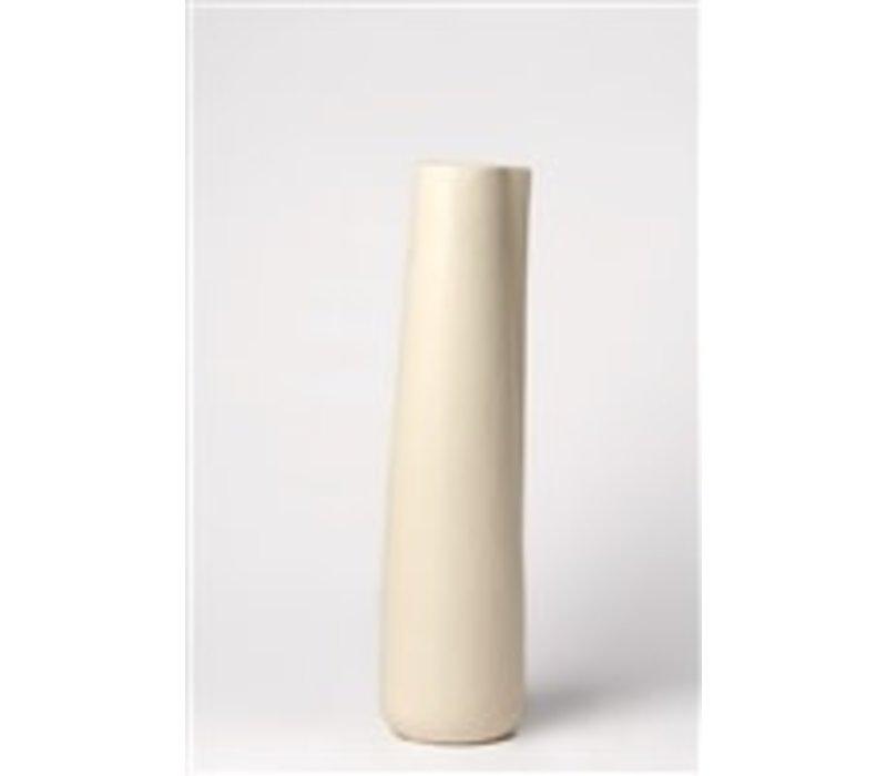 Ceramic Pitcher Stone Cream Narrow