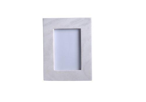 "Marble Frame White 6x4"""