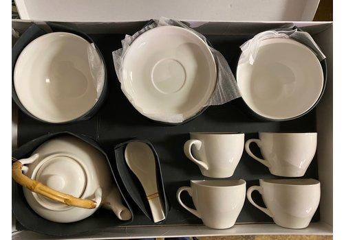Ceramic 13 Piece Breakfast Set
