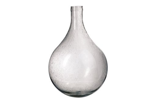 Vase in Bubble Glass Large