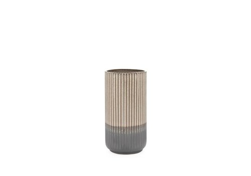 """Palma Layered Glaze Ceramic Vase 9"""""""