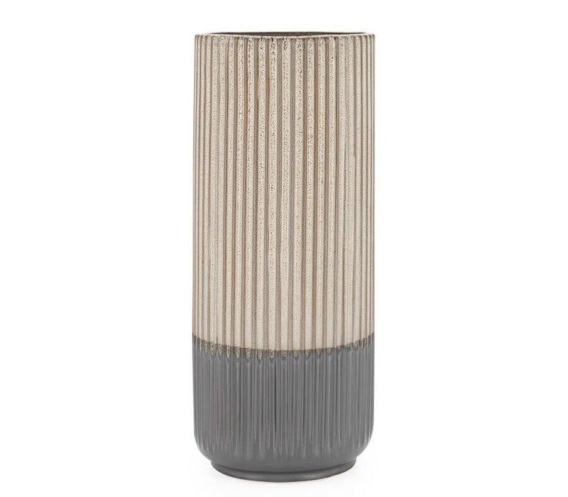 """Palma Layered Glaze Ceramic Vase 13.5"""""""