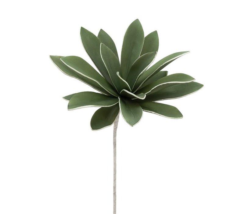 """Desert Succulent Dark Green Agave Stem 31"""""""