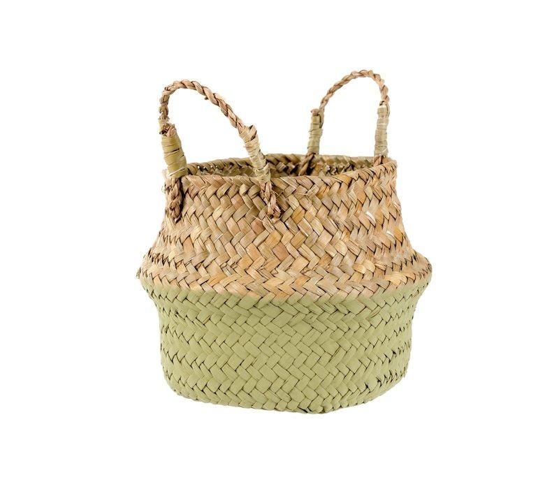 Baby Belly Basket Olive