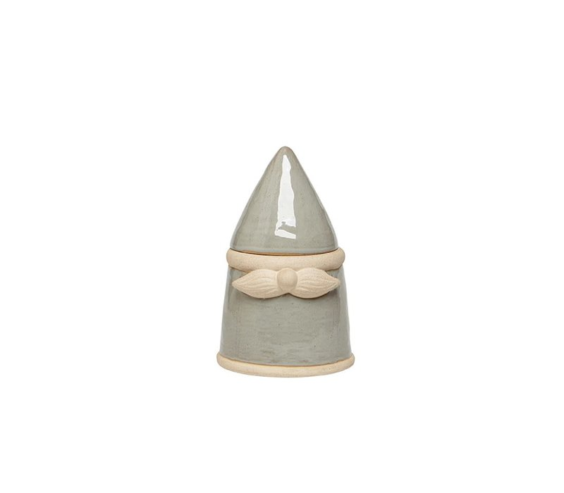 Gnome Jar Grey