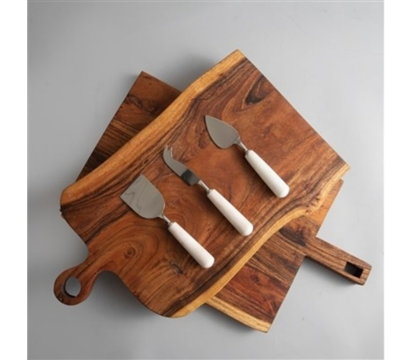 Marble Cheese Knives Set of Three