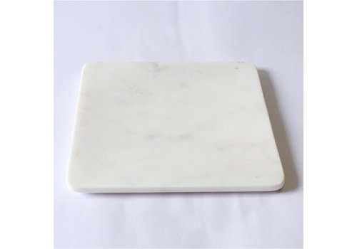 """Marble Platter Square 8x8"""""""