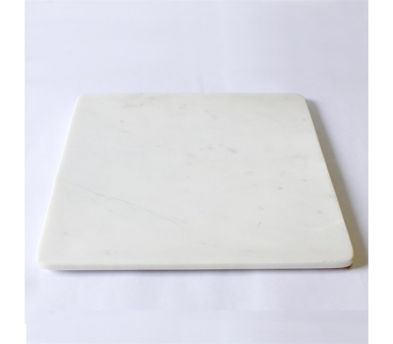 Marble Platter Square 15x15''