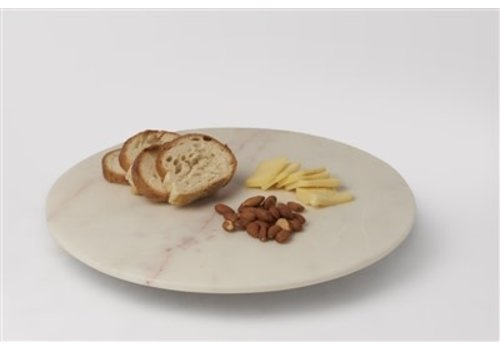 White Marble Lazy Susan Small