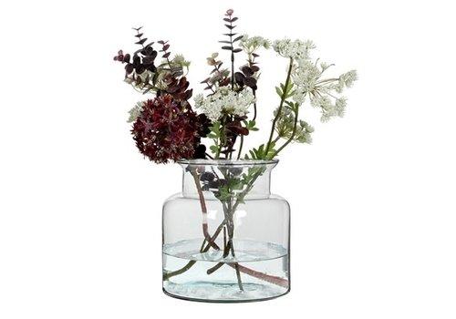 """Mathew Glass Vase Small 7""""H"""