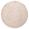 Jute & Cotton Hanoi Round Carpet