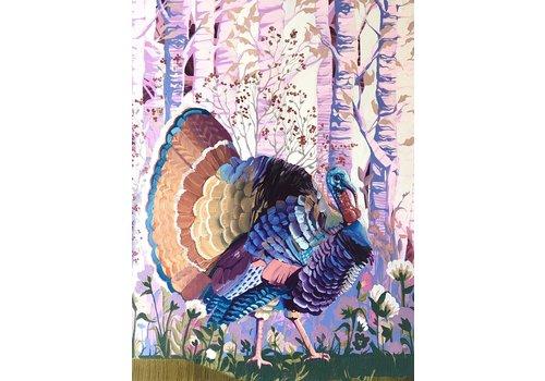 Local Calgary Artist Mckenna Prather Plum Thicket And A Wild Turkey