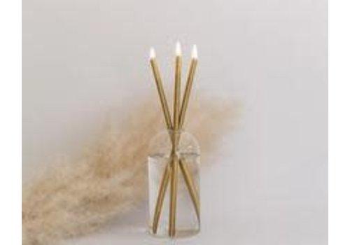 Everlasting Candle Gold Set - Ayden Vase