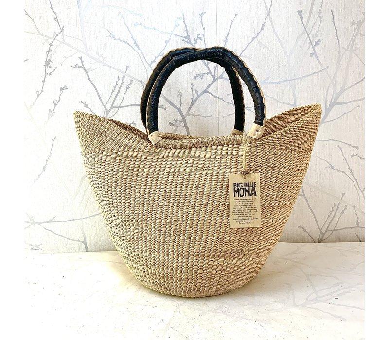 U Shopper Large Natural Basket