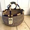 Round Deep  Large Indigo & Natural Basket