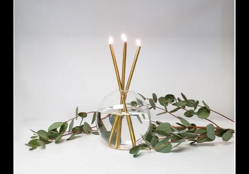 Everlasting Candle Gold Set - Mother Vase