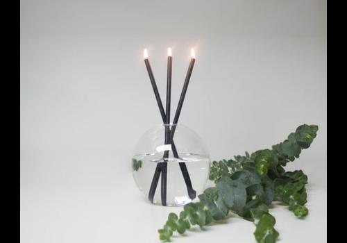 Everlasting Candle Black Set - Mother Vase