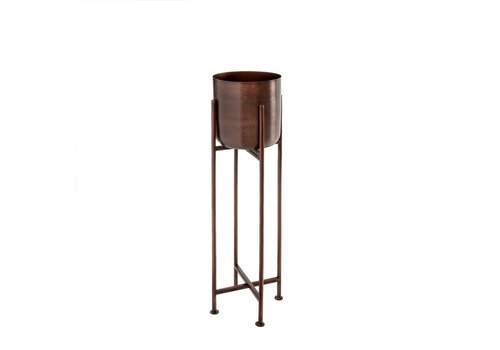 Sooke Plant Stand Iron Grape Small