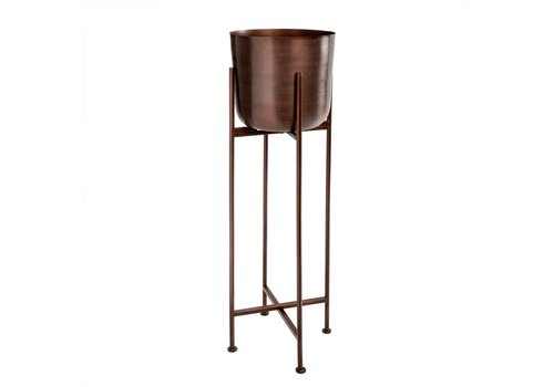 Sooke Plant Stand Iron Grape Large