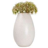 "Parker Specked Glaze Ceramic Bulb Vase 11.5"""