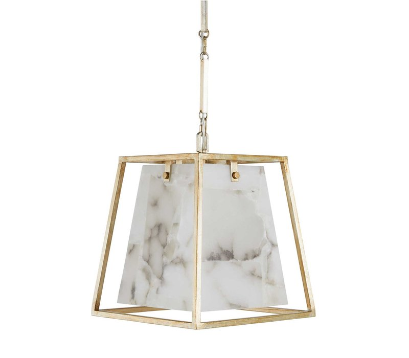 Stacey Chandelier Champagne Silver