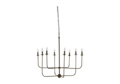 Lilly Chandelier Brushed Copper