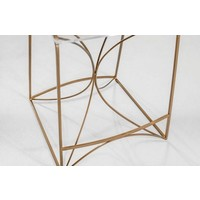 Angela Counter Stool - Gold