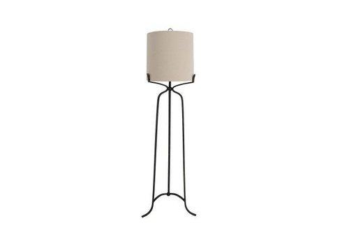 Elena Floor Lamp Black Base
