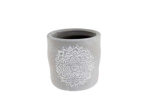 Eden Garden Grey Pot