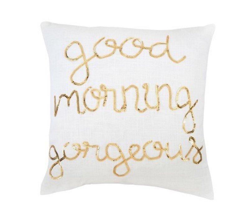 Good Morning Sequin 20 x 20