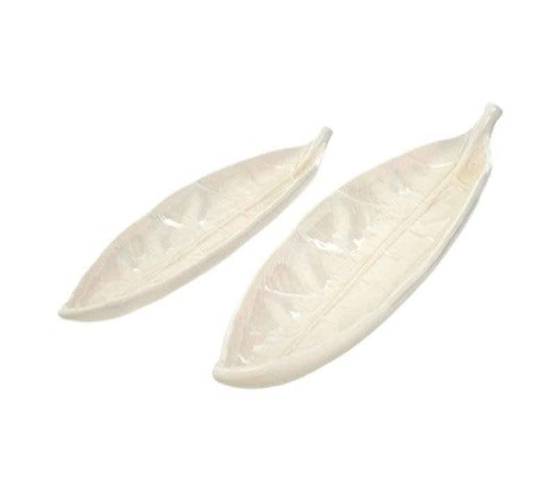 Porcelain Leaf Small
