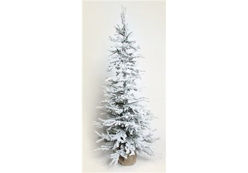 Flocked Tree 36""