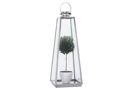 Portico SS Tapered Lantern - Large