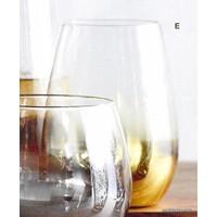 Gold Fade Wine Glass