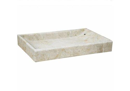 Cream Marble Tray