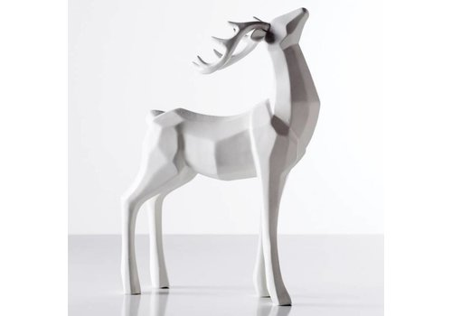 Carved Stag Decor - Head Up