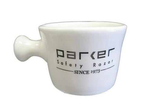 Parker Stoneware Apothecary Shave Mug - Ivory