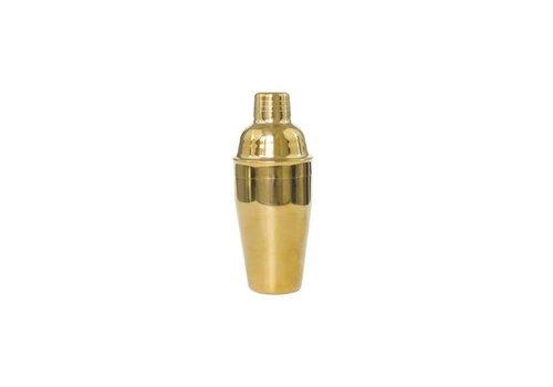 Polished Brass Cocktail Shaker Large