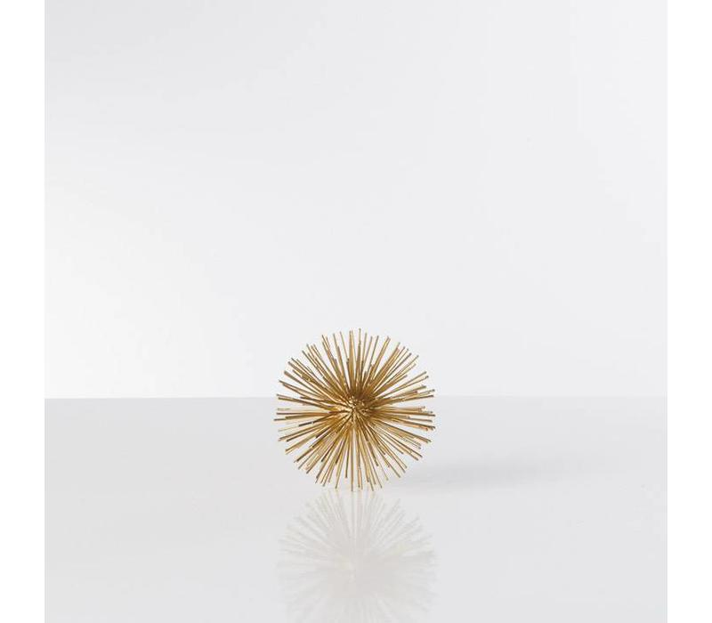 Spike Decor Sphere Gold Small